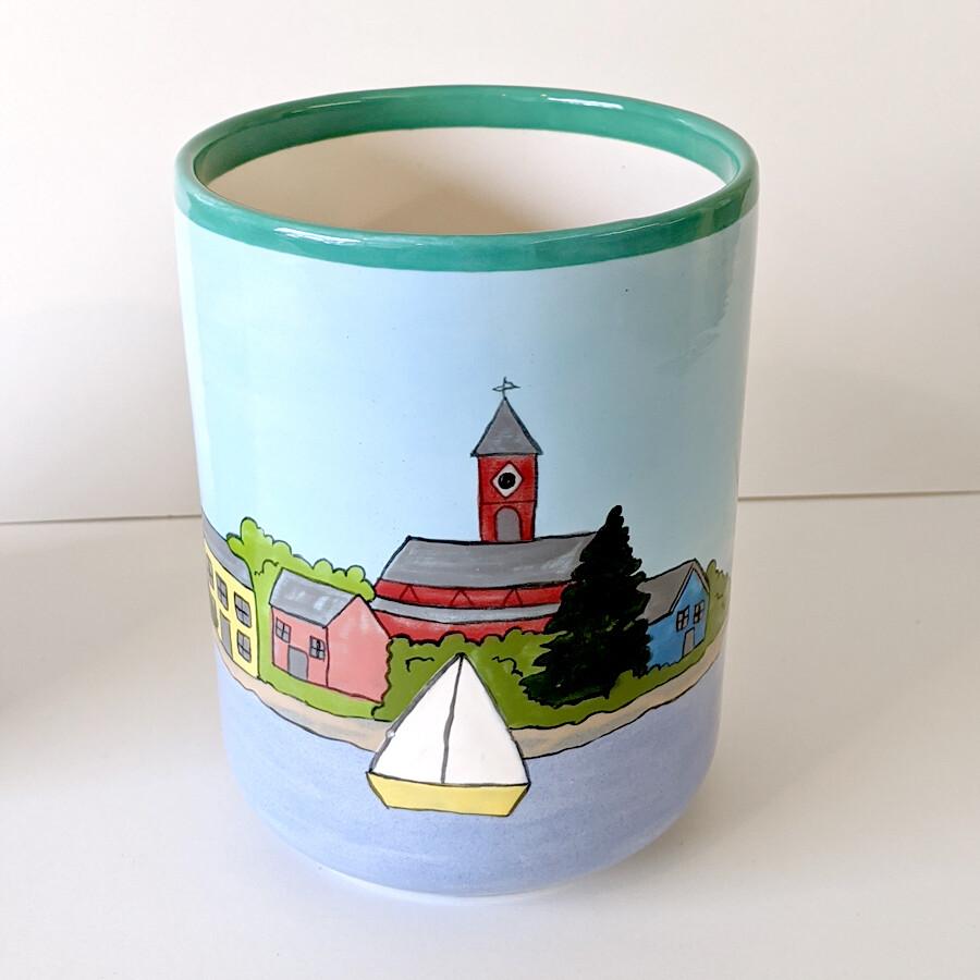 Marblehead Ceramics - Small Kitchen Utensil Keeper