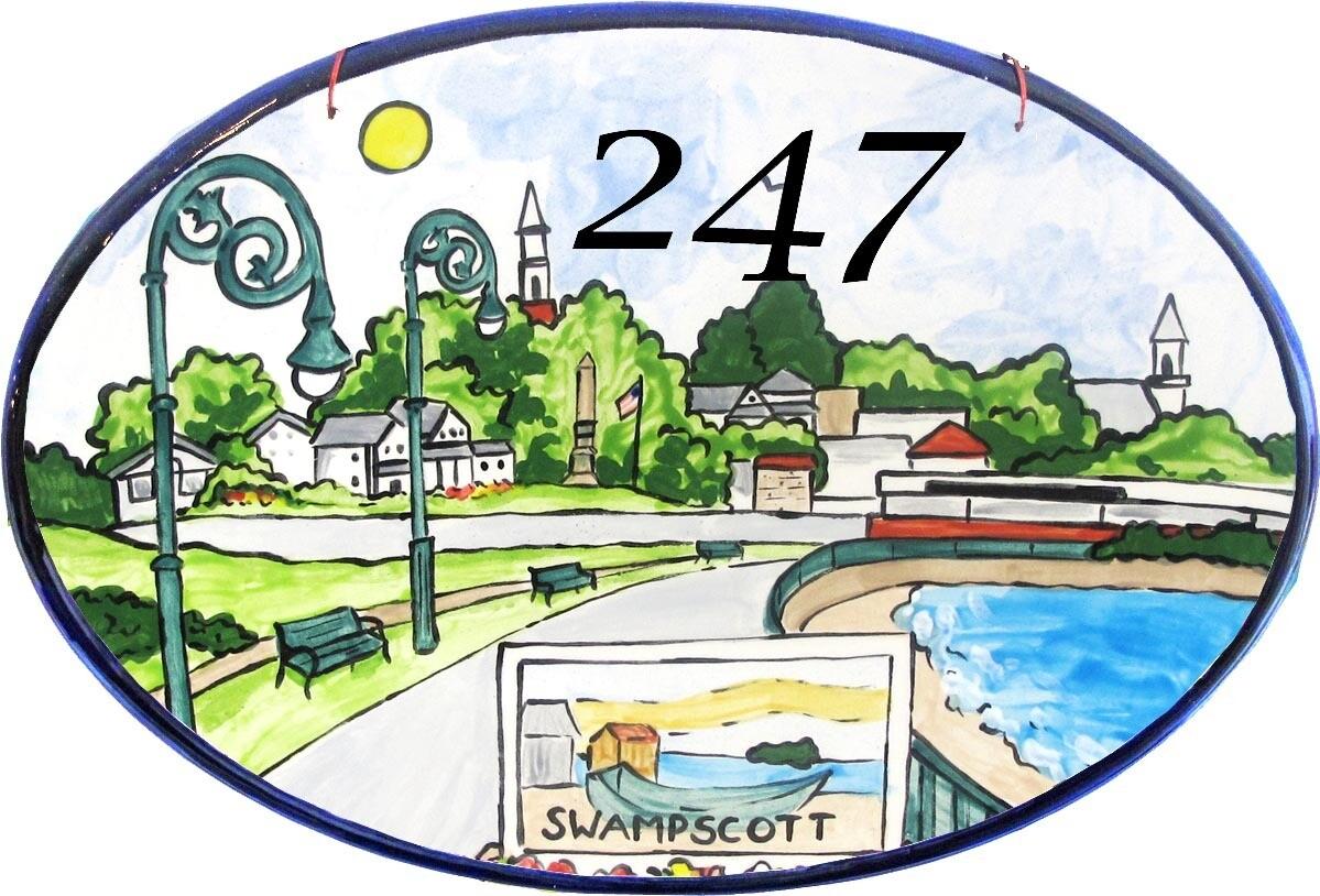 Swampscott Ceramics -  House Plaque