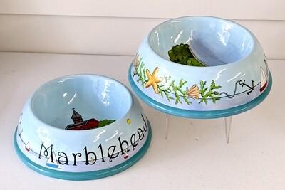 XL dog bowls