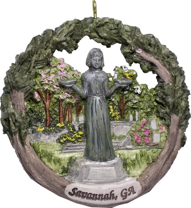 AmeriScape Ornament Savannah, Georgia, Bird Girl Statue
