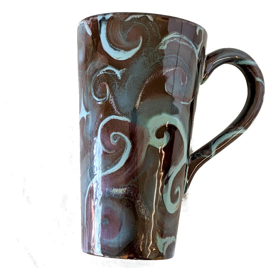 Tall Swirl Mug Class