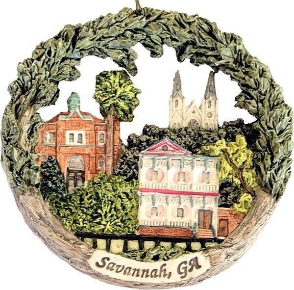 AmeriScape Ornament Savannah, Georgia Landmarks