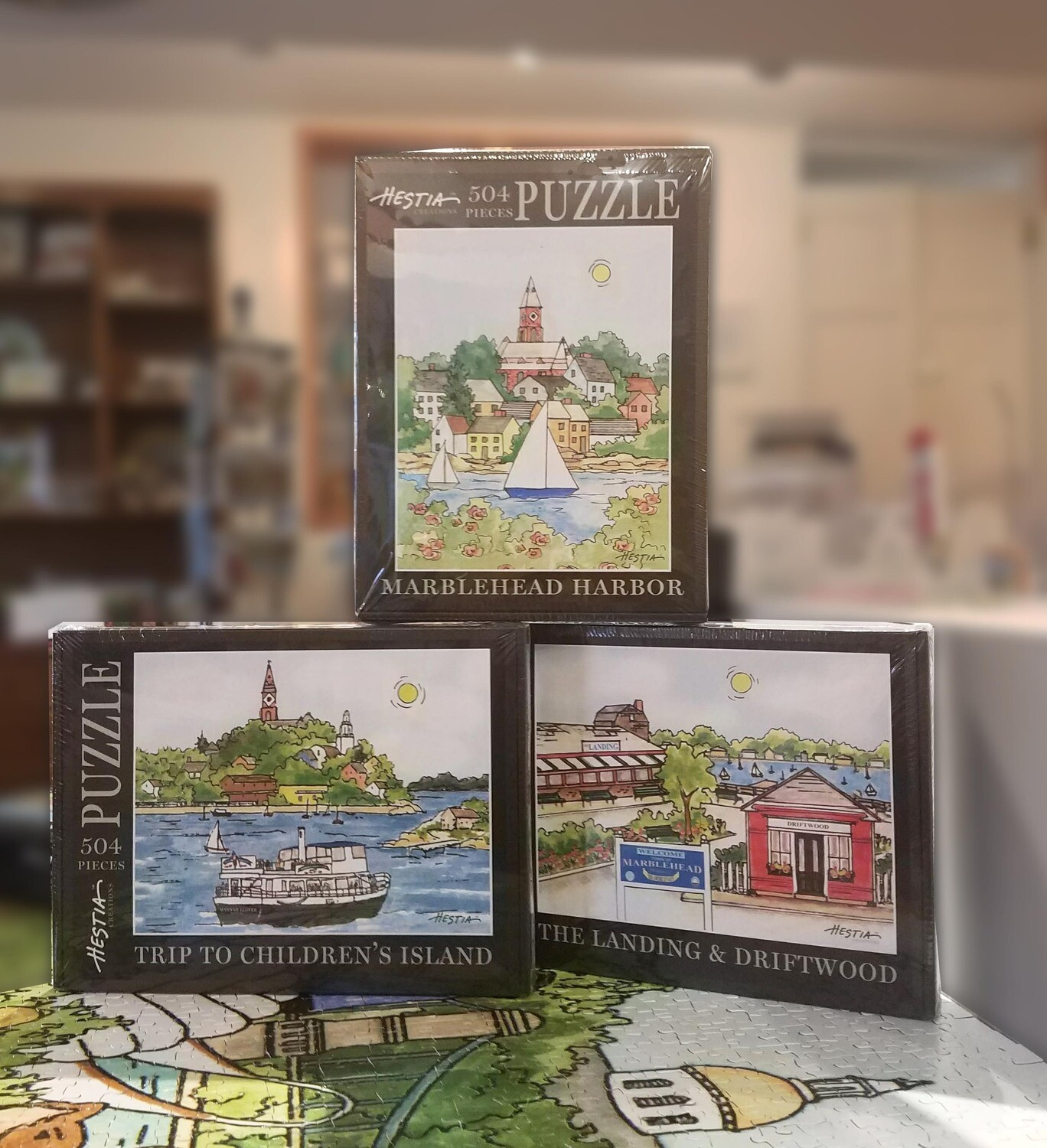 Marblehead WaterScape - Jigsaw Puzzles