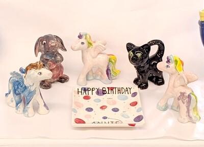 Kids Figurine Birthday Party Package
