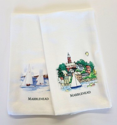 Marblehead WaterScape - Hand Towel