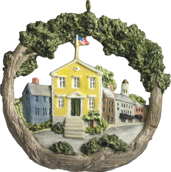 1996 Marblehead Annual Ornament - Old Town House