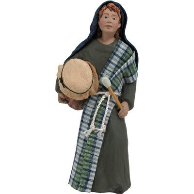 Retired - 2020 Nativity Figure - Asher, Drummer