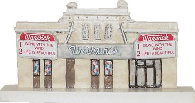 Marblehead VillageScape - Old Warwick Movie Theatre