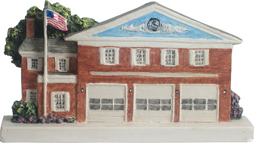 Marblehead VillageScape - Pleasant Street or New Firehouse