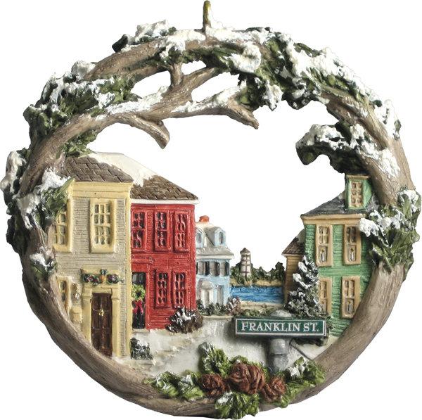 2000 Marblehead Annual Ornament - Franklin Street Downtown