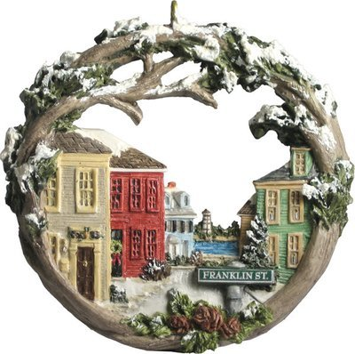 2000 Marblehead Annual Ornament - Franklin Street Downtown