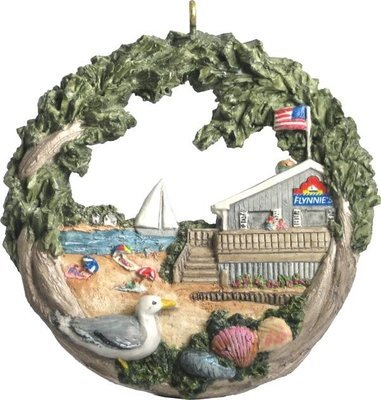 2004 Marblehead Annual Ornament - Flynnies at the Beach