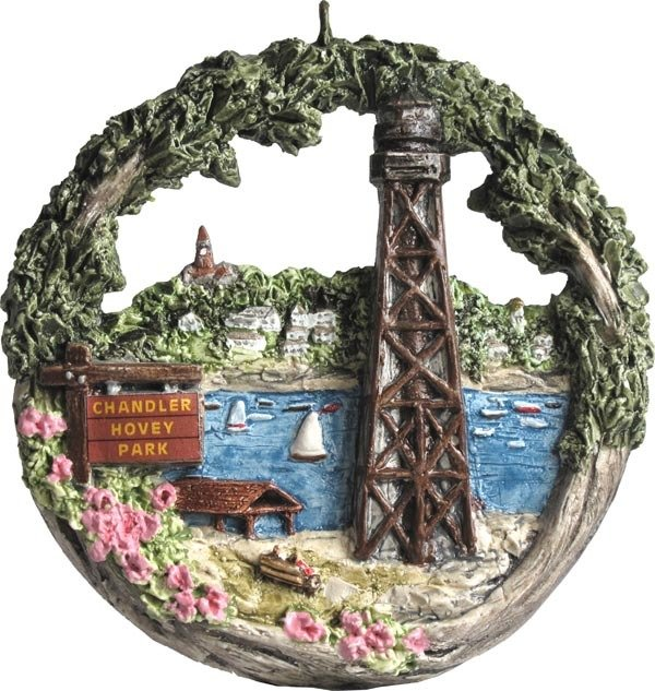 2009 Marblehead Annual Ornament - Chandler Hovey Park
