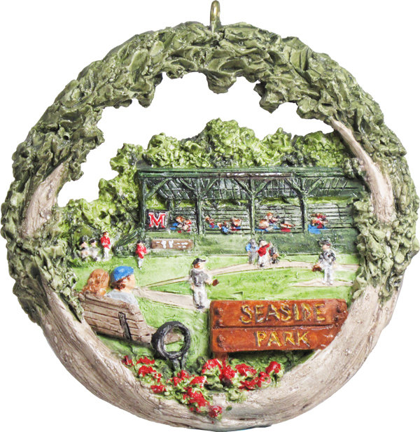 2016 Marblehead Annual Ornament - 100th Anniversary of - the Elliott Roundy Grandstand - at Seaside Park