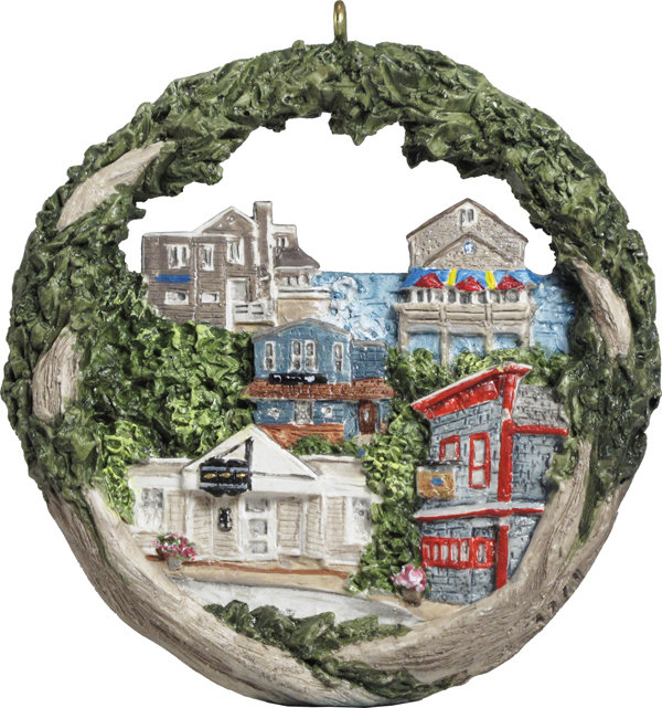 2017 Marblehead Annual Ornament - Marblehead Pub Crawl