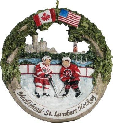 Marblehead AmeriScape - St Lambert Hockey Exchange Ornament