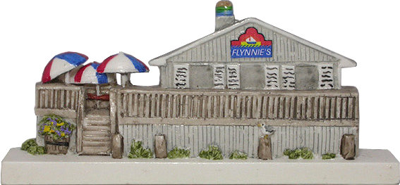 Marblehead VillageScape - Flynnie's on the Beach