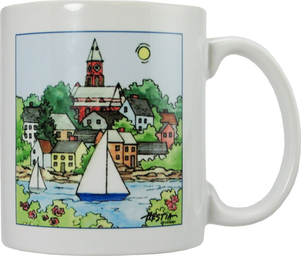 Marblehead WaterScape - Mug