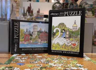 Boston WaterScape Jigsaw Puzzles