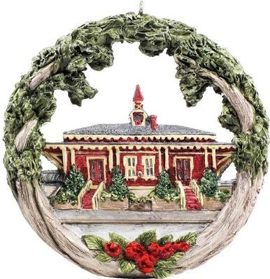 Swampscott AmeriScape Ornament Historic Train Station