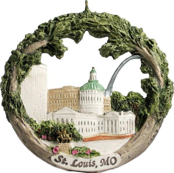 AmeriScape Ornament St. Louis, MO Landmarks