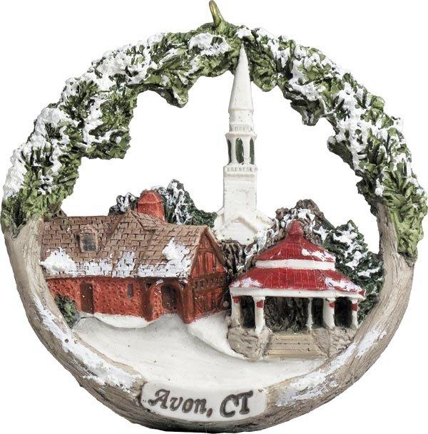 AmeriScape Ornament Avon, CT in Winter