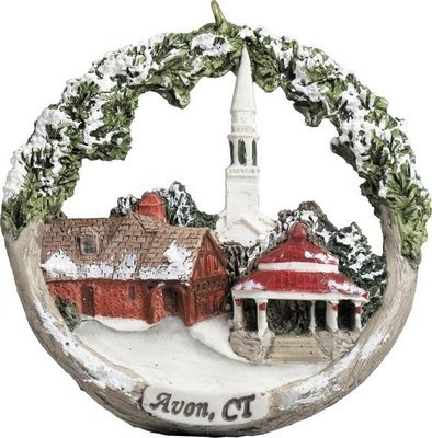 AmeriScape Ornament Avon, CT in Winter