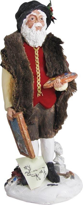 Artist Santa Figure