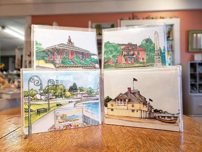 Swampscott WaterScape - Note Cards  Box of 10