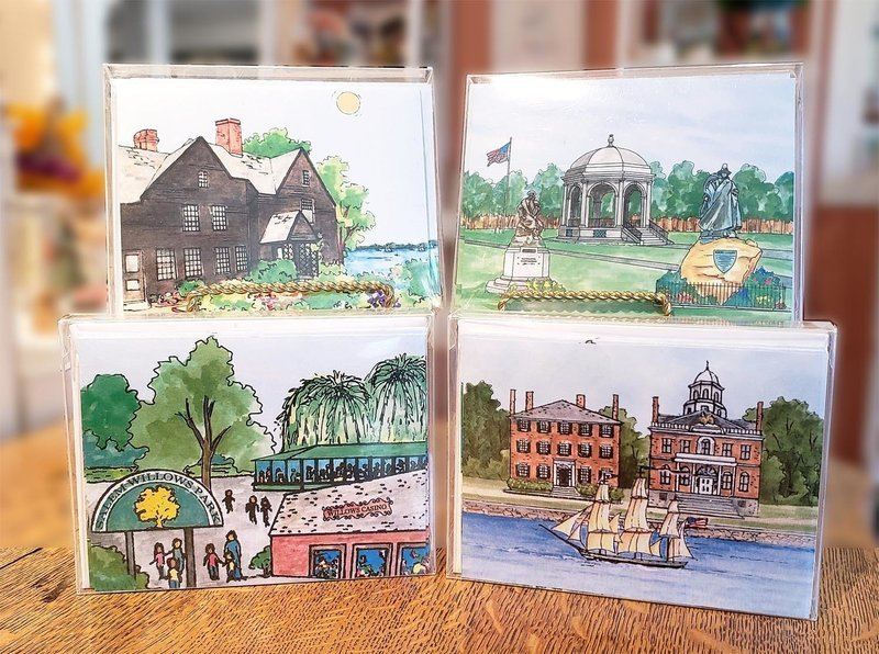 Salem WaterScape - Note Cards  Box of 10