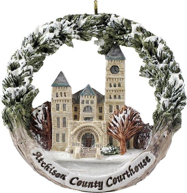 AmeriScape Ornament County Courthouse, Atchison, KS