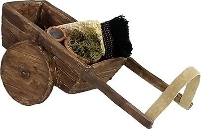 Nativity Accessory - Donkey Cart