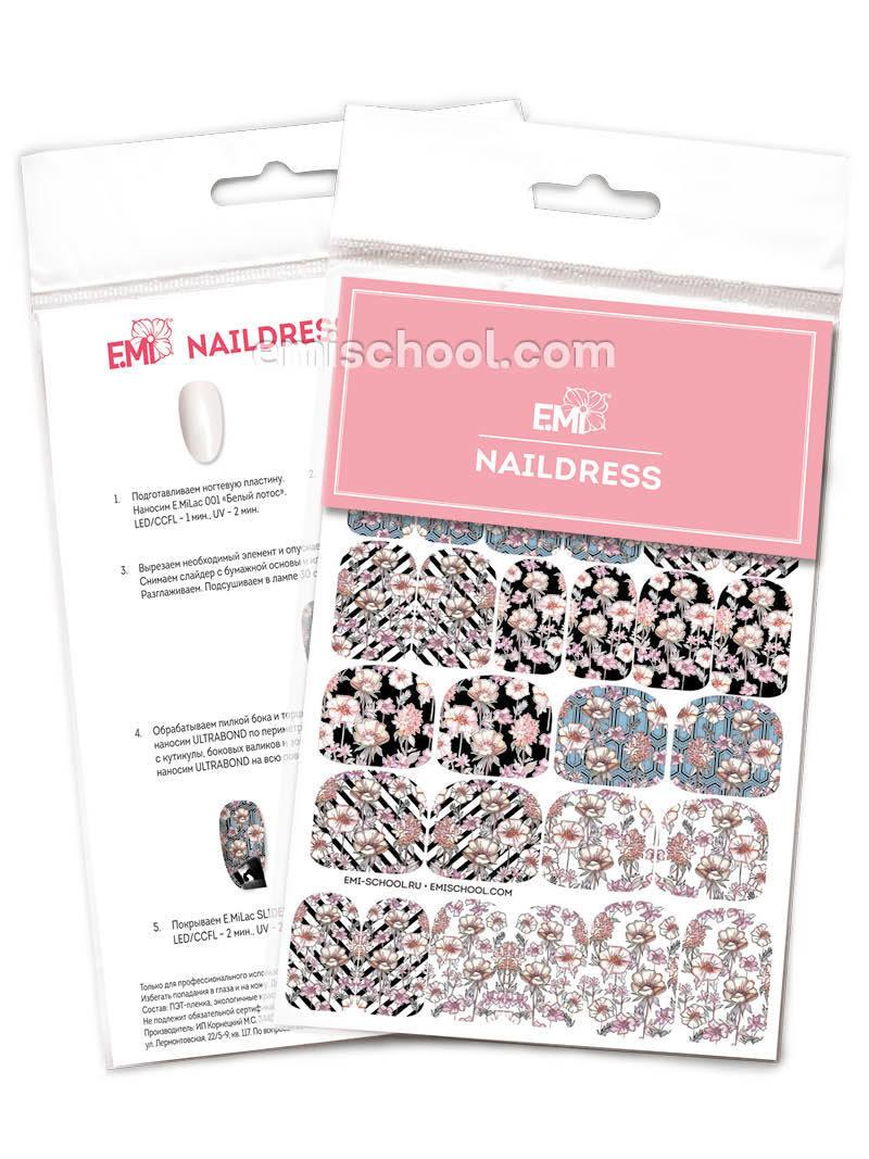 Naildress Slider Design #31 Wildflowers
