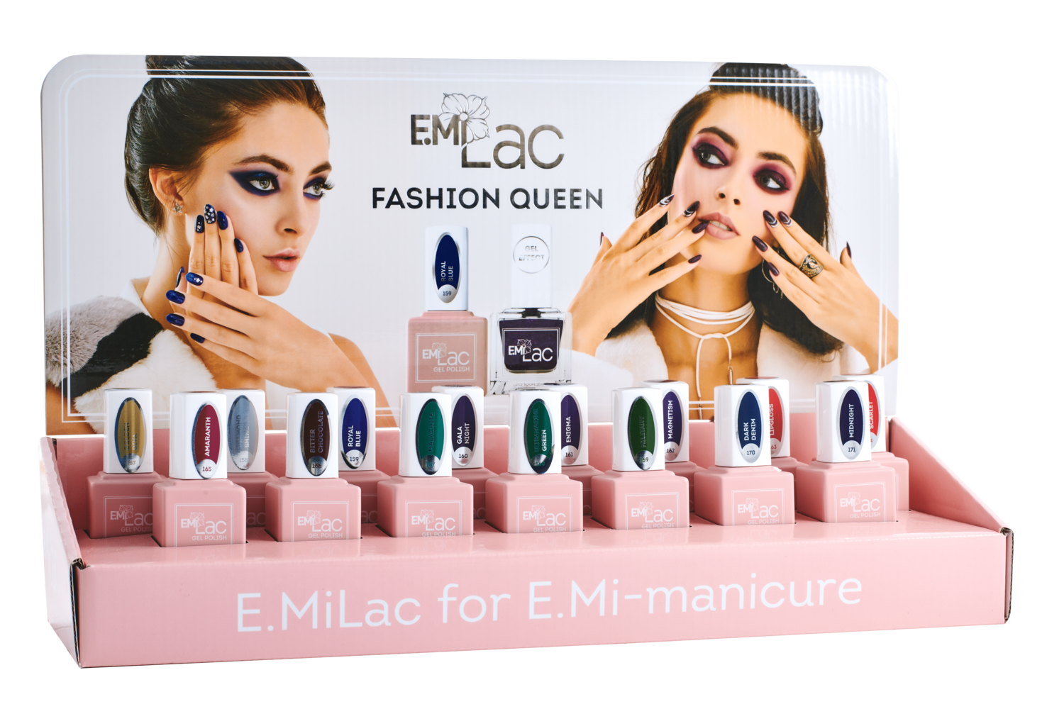 Display Ultra Strong and E.MiLac Fashion Queen+Set