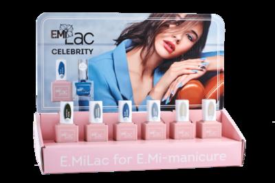 Display E.Milac Celebrity 5+1 Set