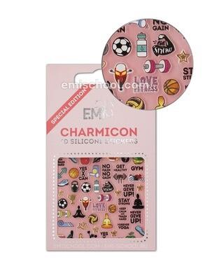 Charmicon 3D Silicone Stickers Sports