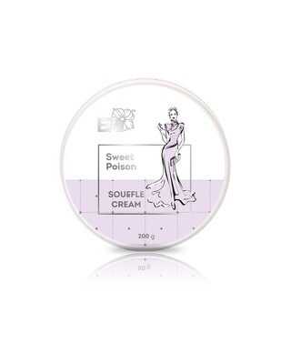 Hand and Body Cream Souffle Sweet Poison, 200 ml.