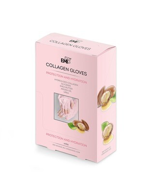 Set Collagen Gloves, 6 pcs.