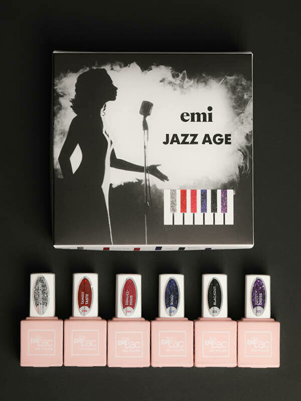 Set Jazz Age, 9 ml.