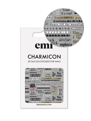 Charmicon 3D Silicone Stickers #167 Cheeky