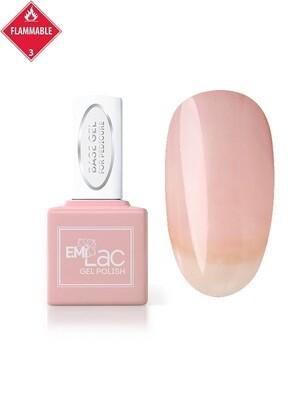 E.MiLac Base Gel for Pedicure, 9 ml.