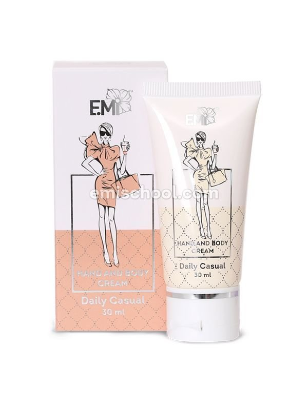 Hand and Body Cream Daily Casual, 30 ml.