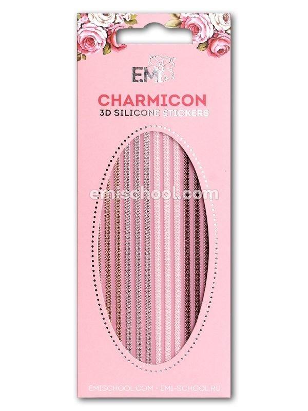 Charmicon 3D Silicone Stickers Ornament MIX #3
