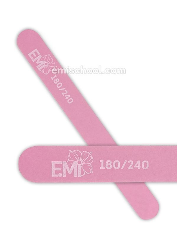 Nail File pink 180/240 for natural nails