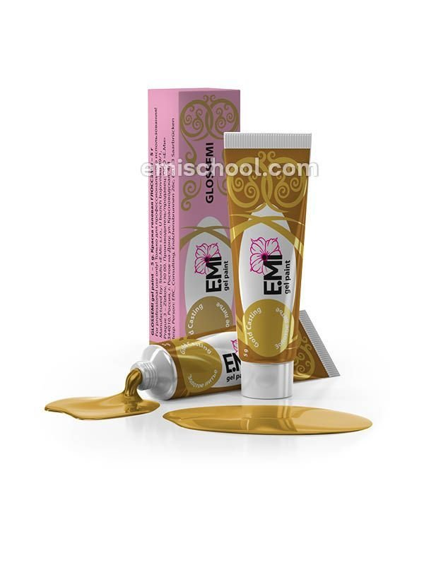 GLOSSEMI Gold Casting, 5 ml.