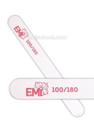 Nail File white 100/180 for artificial nails