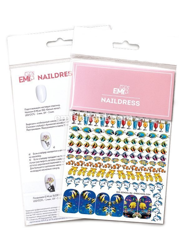 Naildress Slider Design #9 Fish