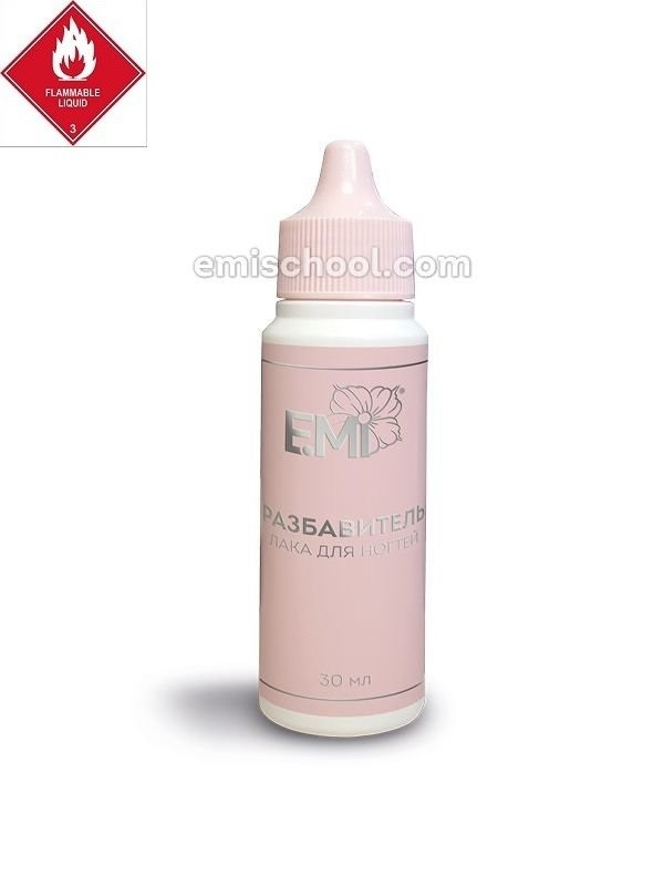Nail Polish Thinner, 30 ml.