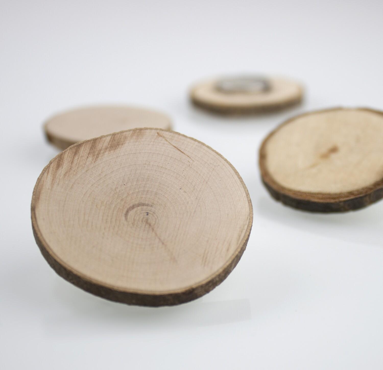 Magnetholzscheibe