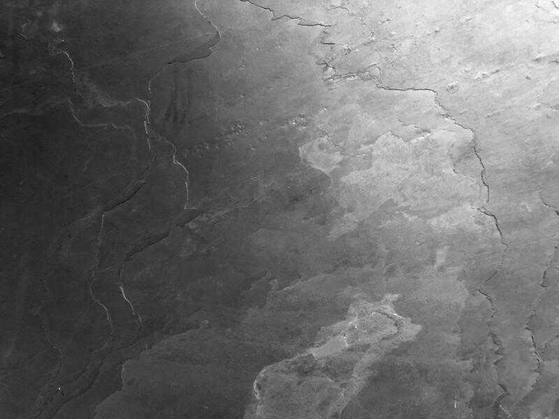 Magnettafel aus echtem Schiefer - Grey Impact mit Rahmen